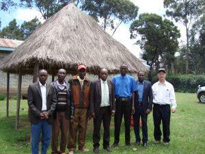 Ernie Hopper with African Preachers
