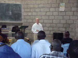 Ernie Hopper Teaching Class